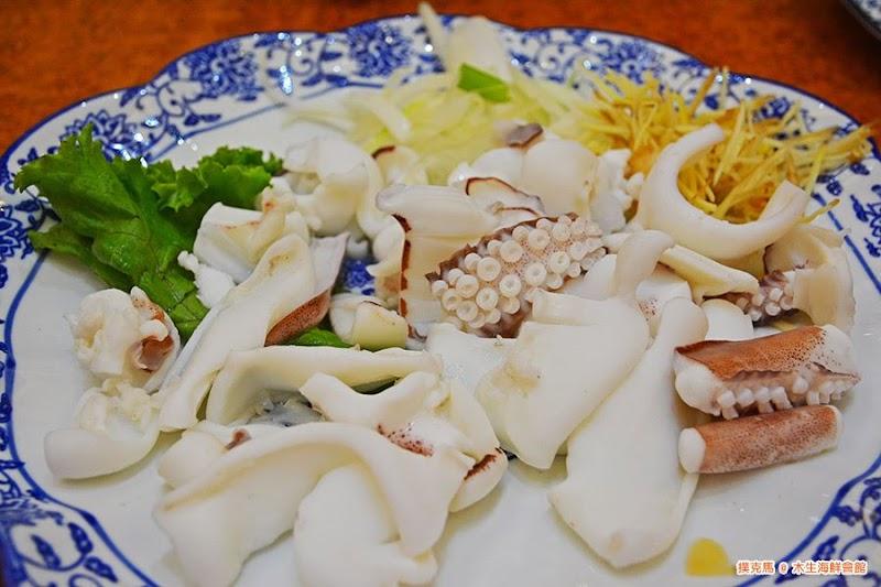 木生海鮮會館燙軟絲