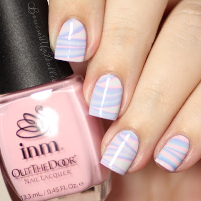 Inm out the door watermarble
