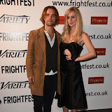 OIC - ENTSIMAGES.COM - Rupert Hill and Diana Vickers  at the Film4 Frightfest on Monday   of  Awaiting   UK Film Premiere at the Vue West End in London on the 31st  August 2015. Photo Mobis Photos/OIC 0203 174 1069
