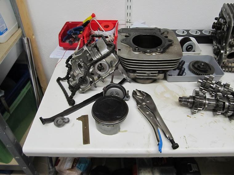 Motor im Keller