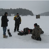 Ice Fishing - Paudash Lake