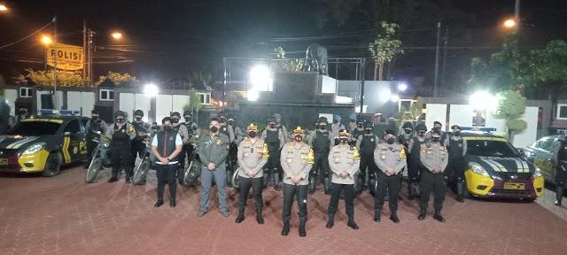 Antisipasi C3,Polres Karawang Terjunkan 32 Personil Tim SCUAD MAUNG KARAWANG Di Tiga Titik Rawan.