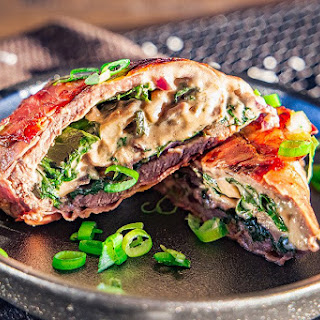 Stuffed Beef Roll.