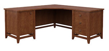 Venice L-Shaped Desk