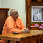 Swami Girishanandaji speaks on June 20