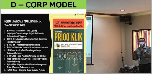 Inovasi BBPP Binuang Wakili Kementan ajang KIPP 2021