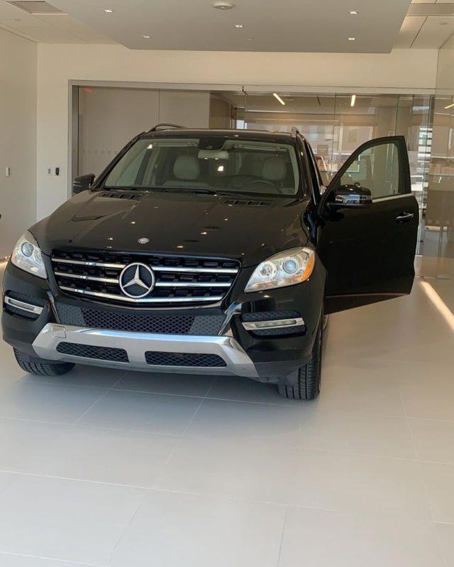 A Mercedes Benz