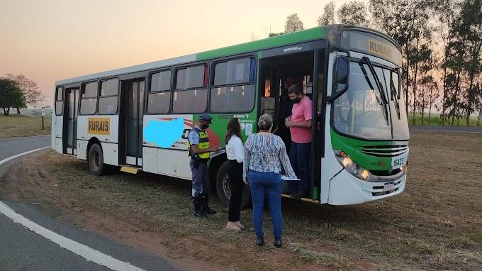 Polícia Rodoviária e Ministério Público do Trabalho realizam fiscalização de transporte de trabalhadores rurais