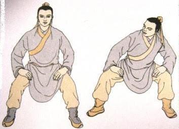 Пятый кусок - Опираться в колено, вращать поясницей