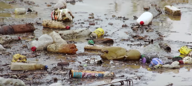Screenshot from UNEP's #CleanSeas Break-Up PSA: 'It's not me, it's you.' Photo: UNEP