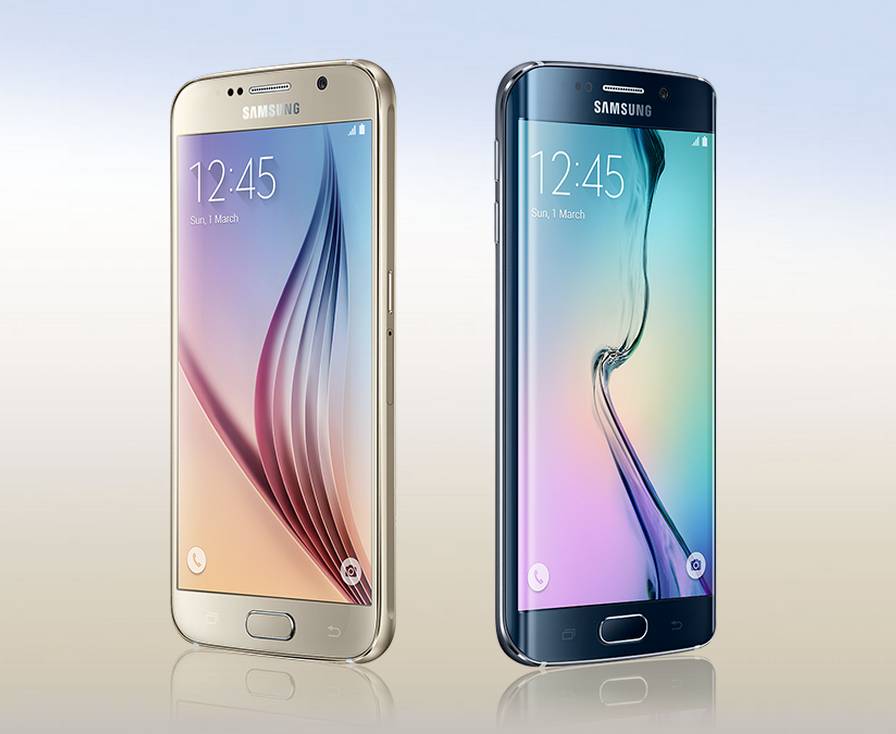 The new Samsung Galaxy S6 and S6 Edge