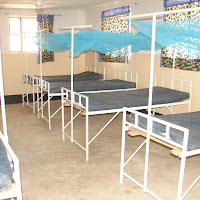 Inside the women's ward.