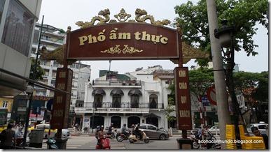 Hanoi. Flashes callejeros. Nombres de las calle (Pho)