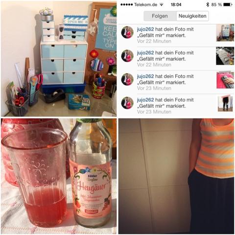 metterlink Instagram im Juli