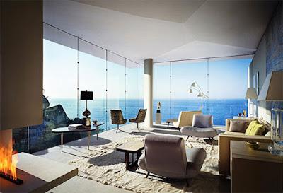 Casa Finisterra 9 Rumah Minimalis Indah Di Tebing Batu
