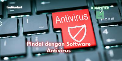 Pindai USB Drive dengan Software Antivirus