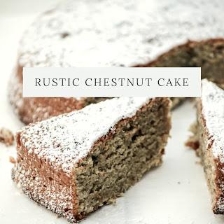 Rustic Chestnut Cake.