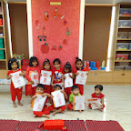 Red Day Celebrated in Nursery at Witty World