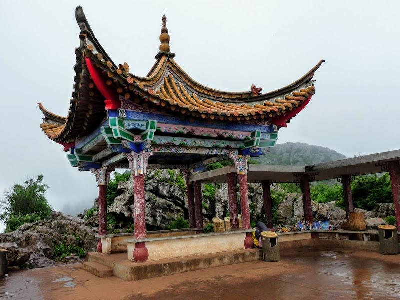 CHINE.YUNNAN.KUNMING , temple Lac Dian Chi - P1270759.JPG