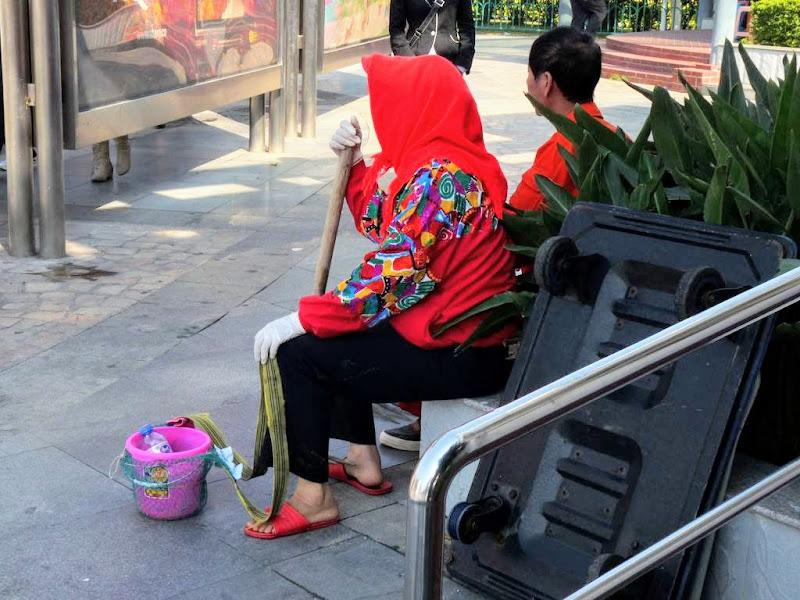 Xiamen.En attendant le bus