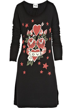 ALICE by Temperley Mini Amor Tattoo T-shirt dress