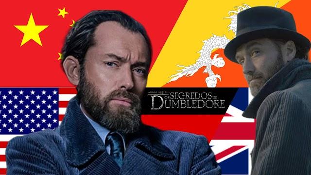 Tudo que sabemos até o momento sobre Animais Fantásticos: Os Segredos de Dumbledore