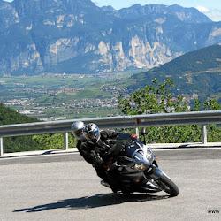 Motorrad Pass Monte Pondone