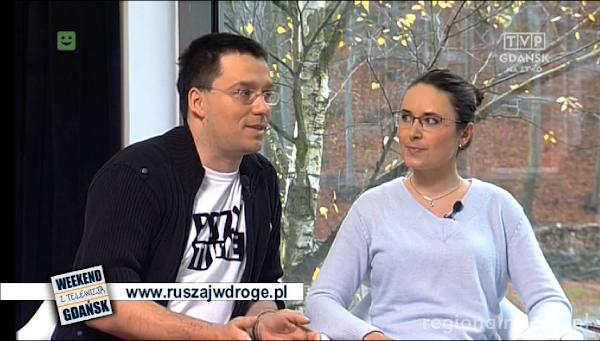 Ruszaj w Drogę w TVP Gdansk