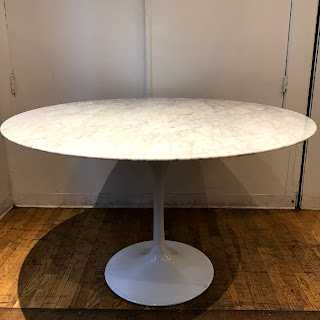 Carrera Marble Top Tulip Table