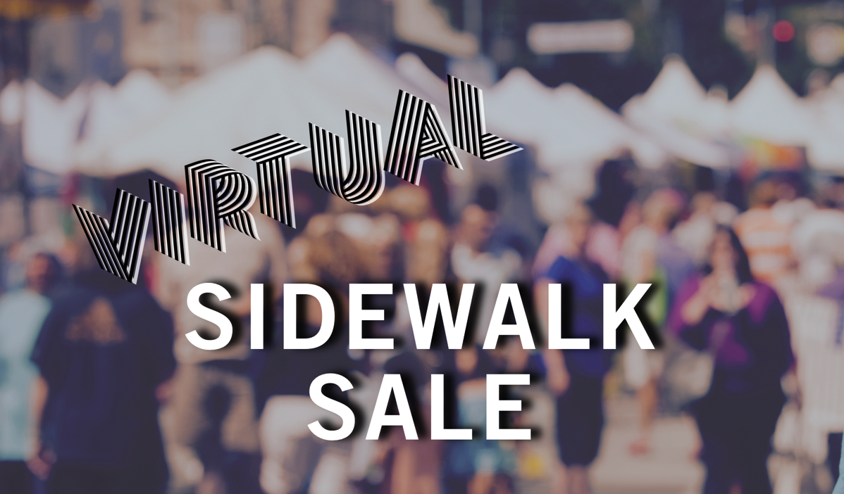 Sidewalk Sale Header