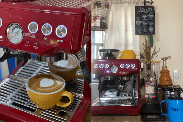 Patty Villegas - The Lifestyle Wanderer - Top 2020 Tech and Lifestyle Discoveries - Review - Breville Barista Express