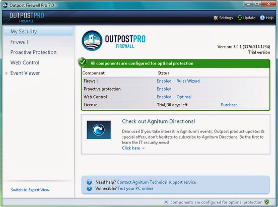 Outpost Firewall Pro 9.0.4537.670.1937 Buen Cortafuegos [x86 & x64] [Multilenguaje] 2013-12-27_02h32_12