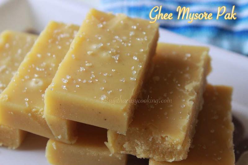 Ghee Mysore Pak1