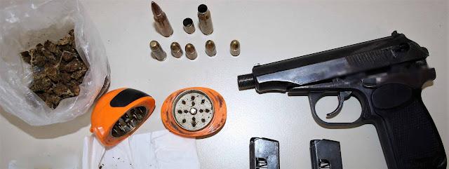 Συλλήψεις για ναρκωτικά και όπλα στην Κεφαλονιά