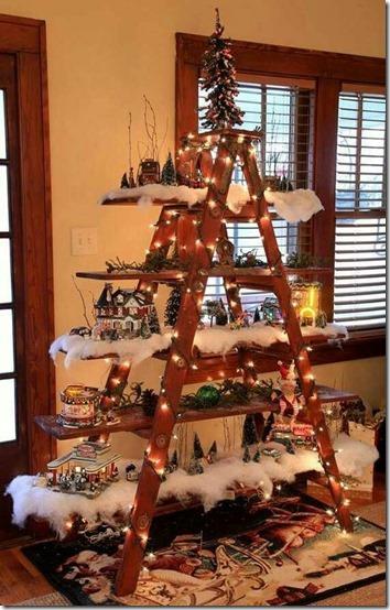 arboles de navidad con escalera buenanavidad (1)