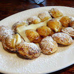 Poffertjes dutch food at The Ossington in Toronto, Ontario, Canada