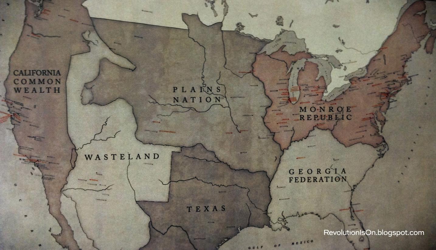 Revolution Map The Monroe Republic Revolution Is On