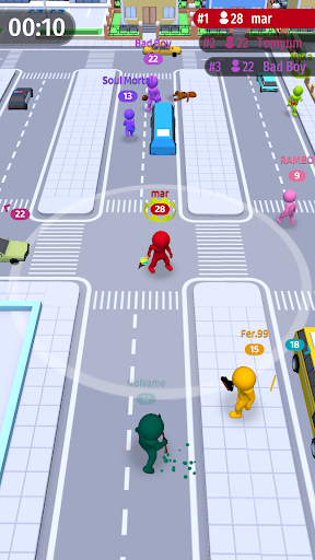 Move.io: Move Stop Move - Stickman Crowd 3D 0.0.47 screenshots 5