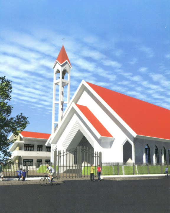 Thánh lễ đặt viên đá đầu tiên xây dựng nhà thờ Vĩnh Hòa