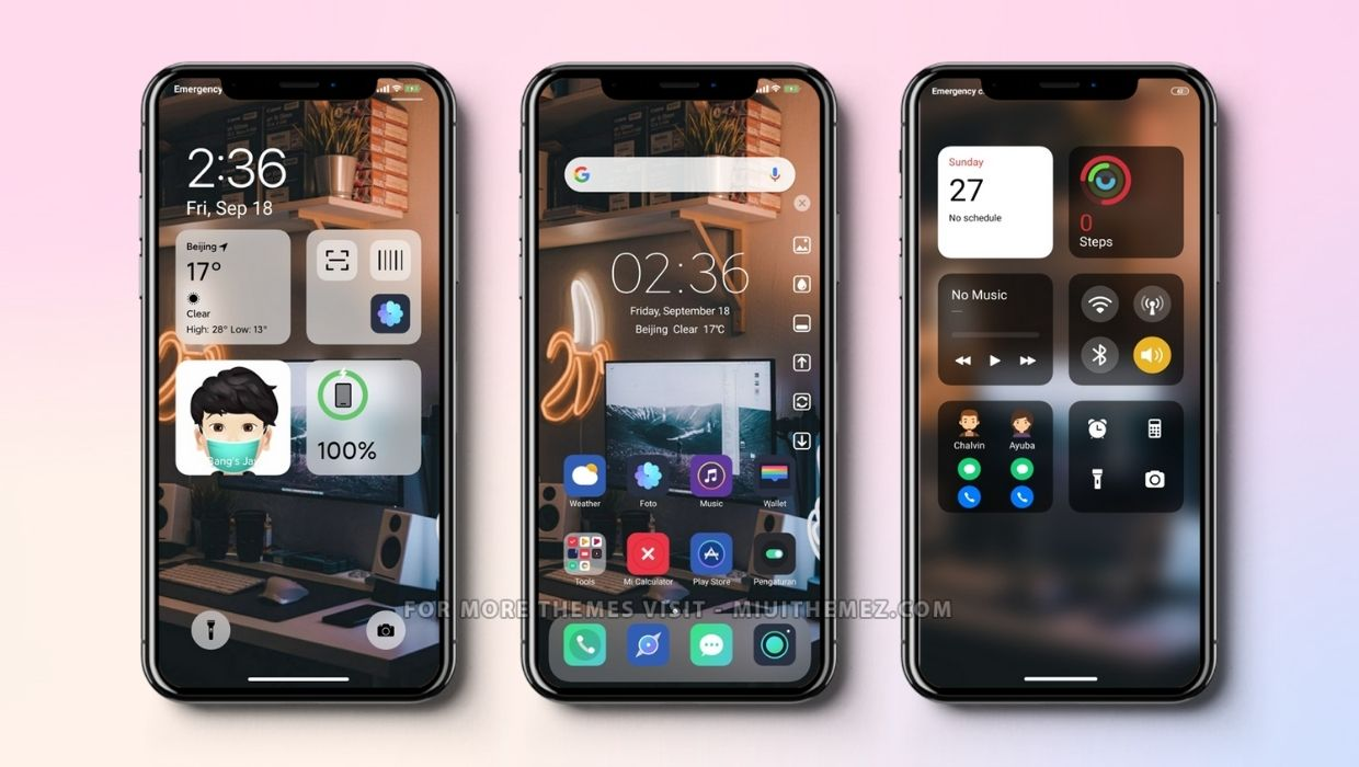 iPhone Xs Max MIUI Theme