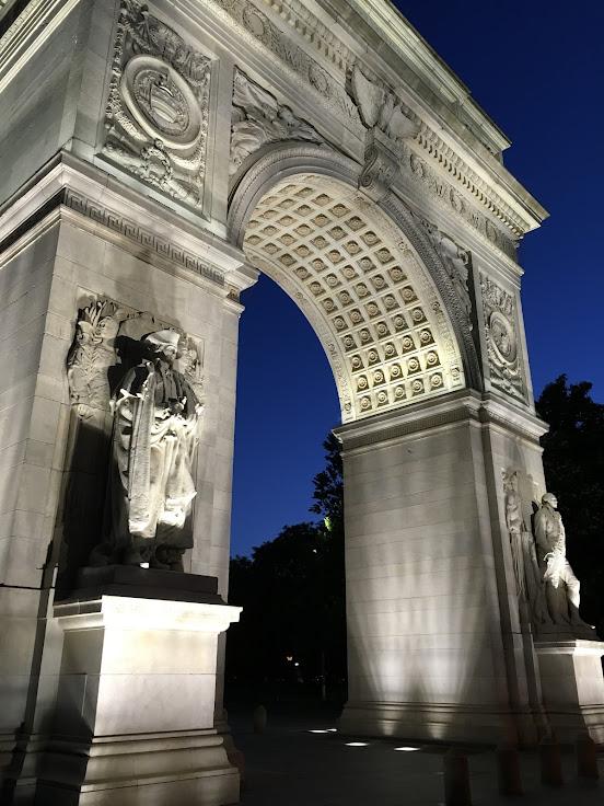 Washington Square arch.