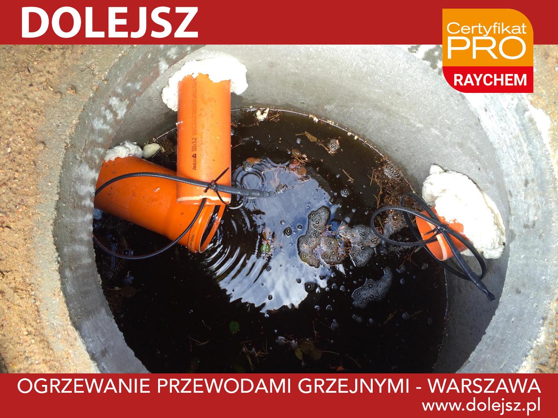 Ogrzewanie rur kanalizacyjnych szamba