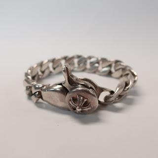 Sterling Silver Heavy Chain Bracelet