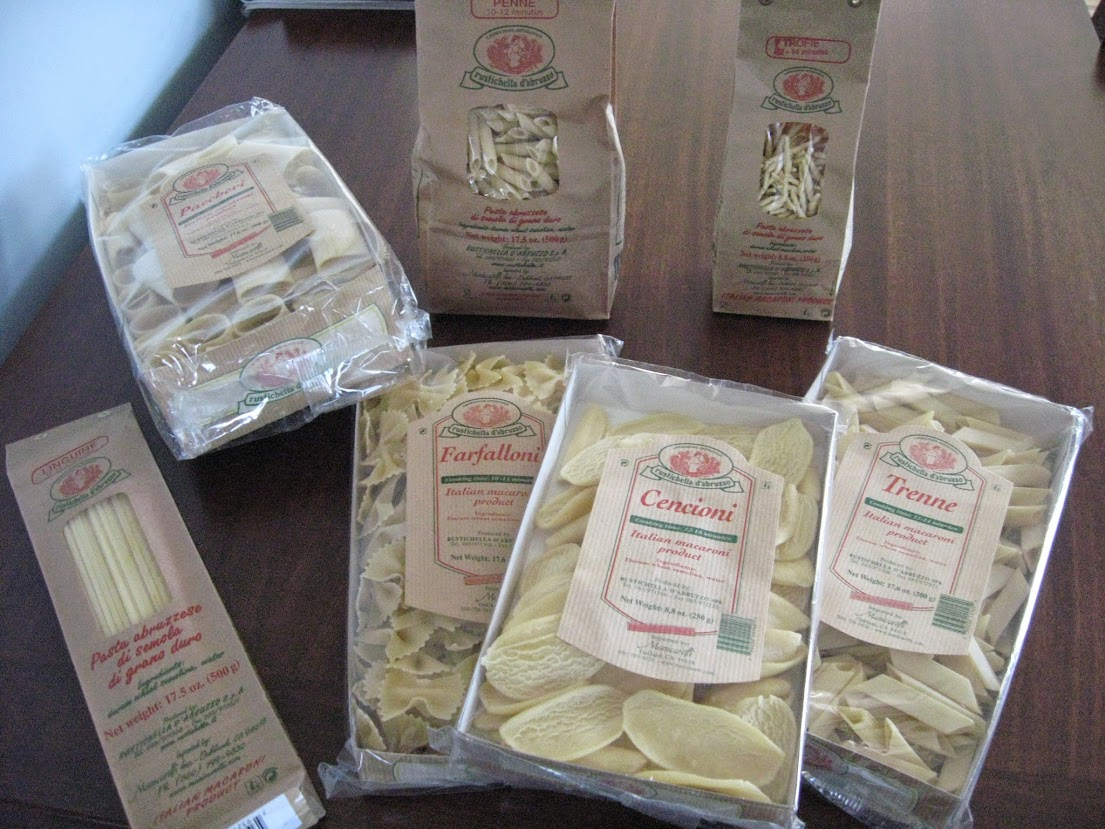"You can't make good pasta without having good pasta to start with - we like many of the ""premium"" Italians brands and tend to shy away from anything made outside of Italy."