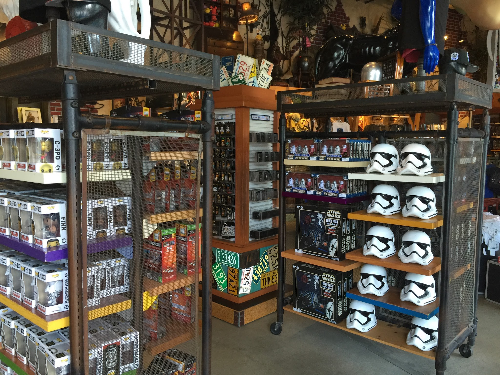 photos new disney star wars merchandise at watto 39 s grotto and d street blog. Black Bedroom Furniture Sets. Home Design Ideas
