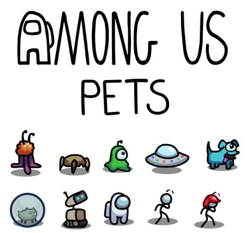 Daftar dan Info Pets di Among Us
