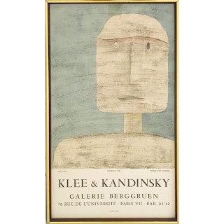 Klee & Kandinsky Exhibition Lithograph