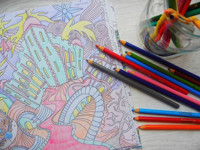 My Mum Was Always So Good At Colouring Making Sure She Coloured In The Same Directions And Everything Beautiful Im Less Controlled