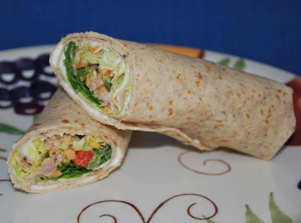 Barney's Chicken Wrap Recipe