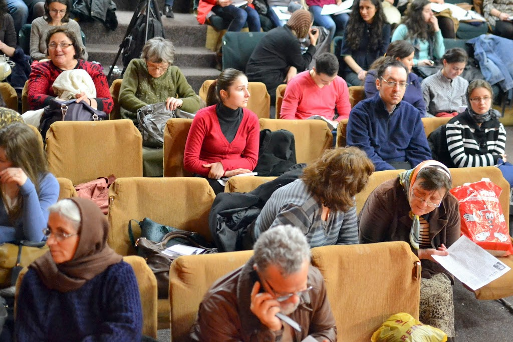 014 Avva Justin Parvu si Sfintii inchisorilor (Teatrul Luceafarul, Iasi, 2014.03.19)
